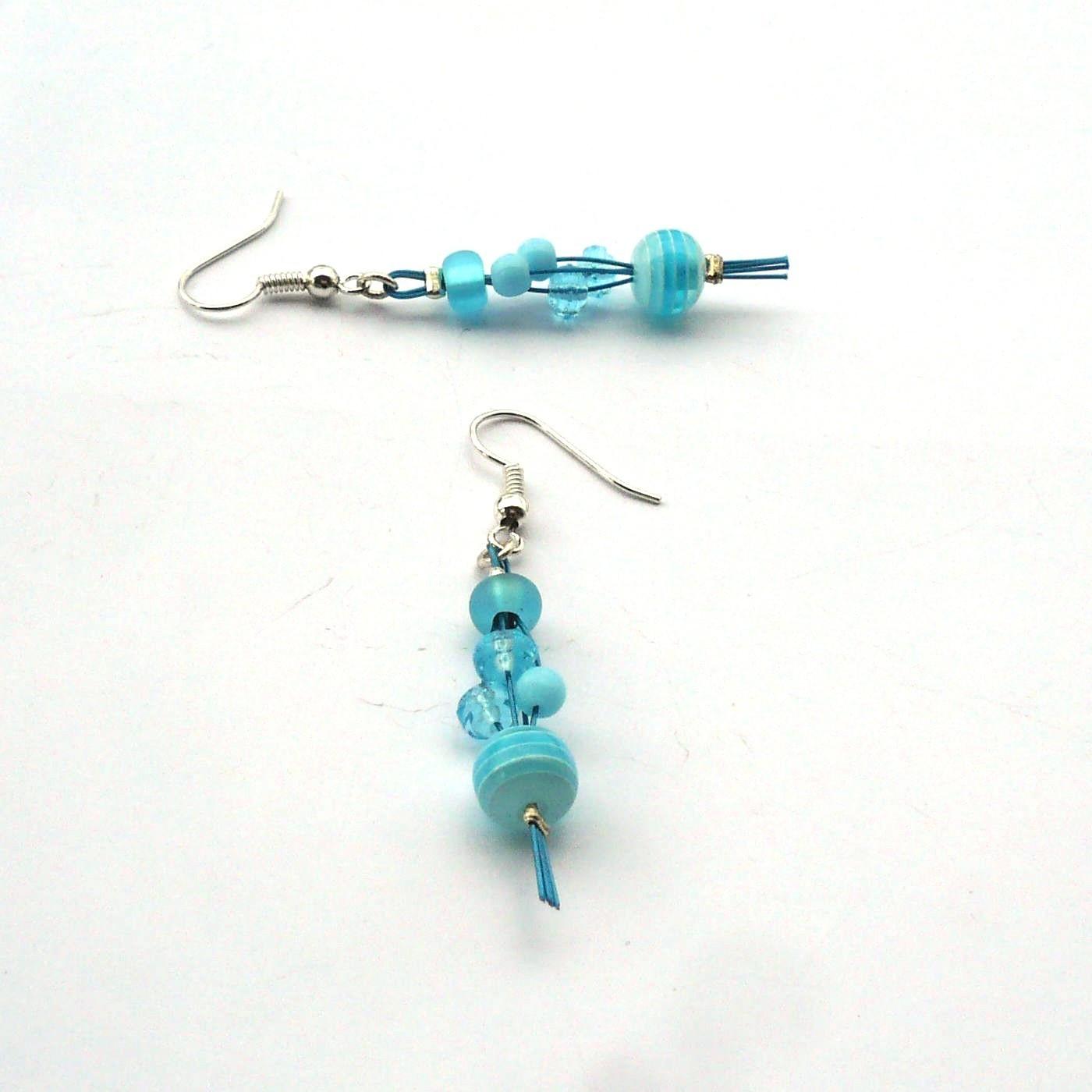 Světle modré duhovky - náušnice   Zboží prodejce kakafuna  a0194c2431c