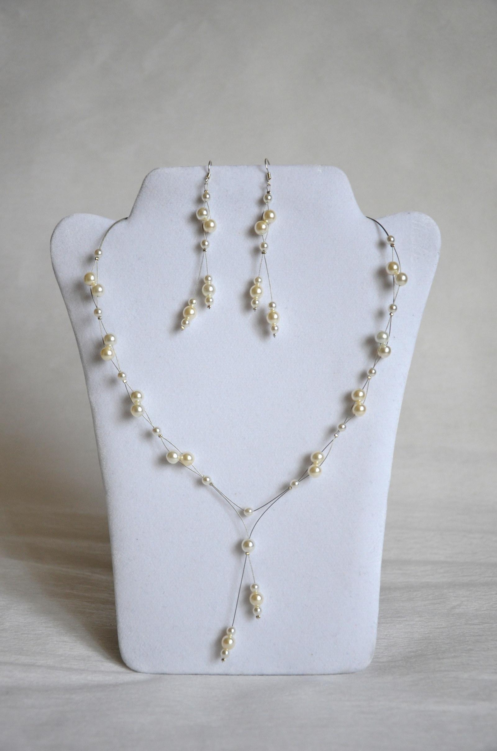 Perlový náhrdelník - bílý!   Zboží prodejce Creative Dream  2415956b1f9
