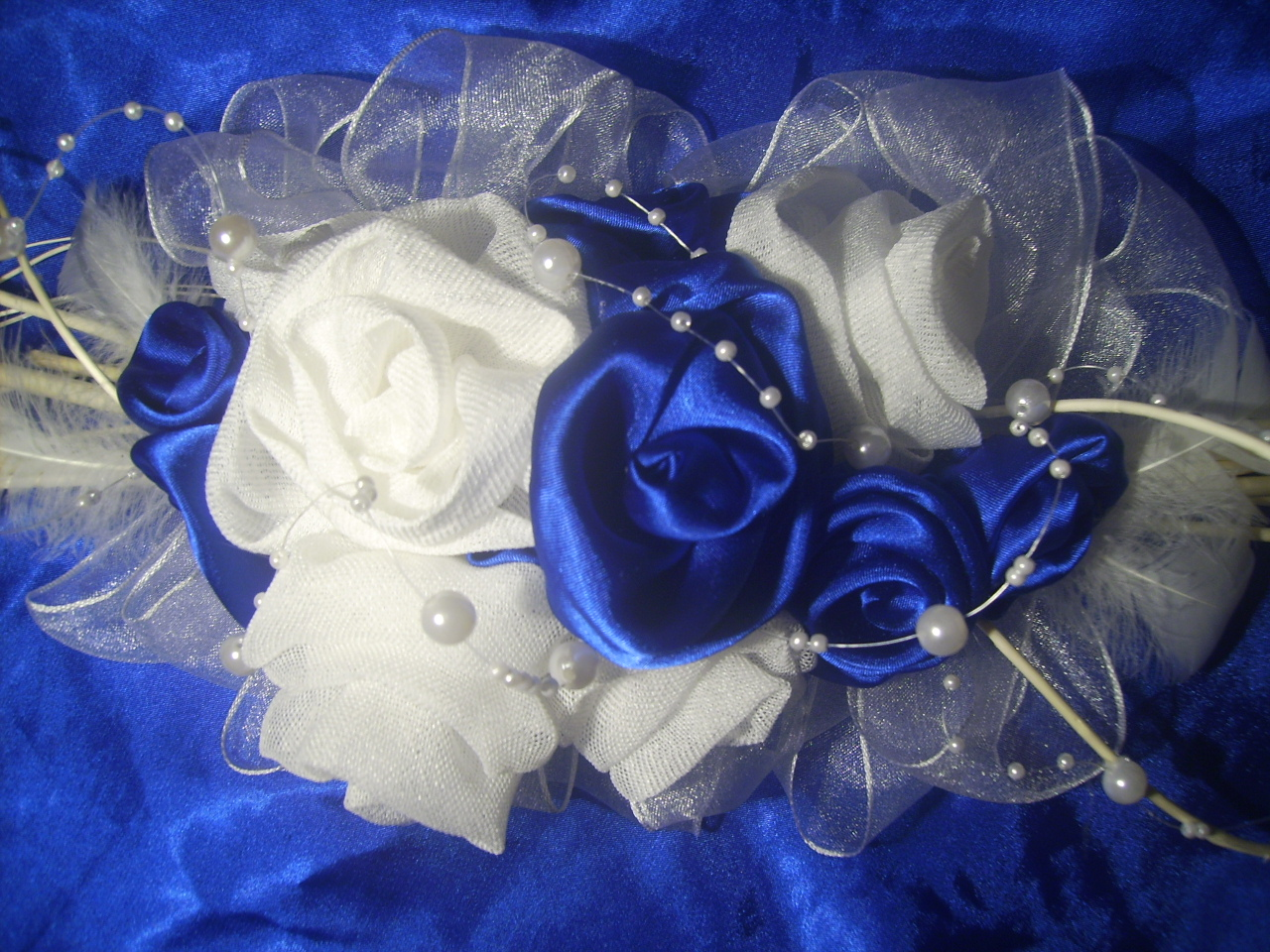 Dekorace Na Svatebni Tabuli Kralovska Modr Zbozi Prodejce Ketyna