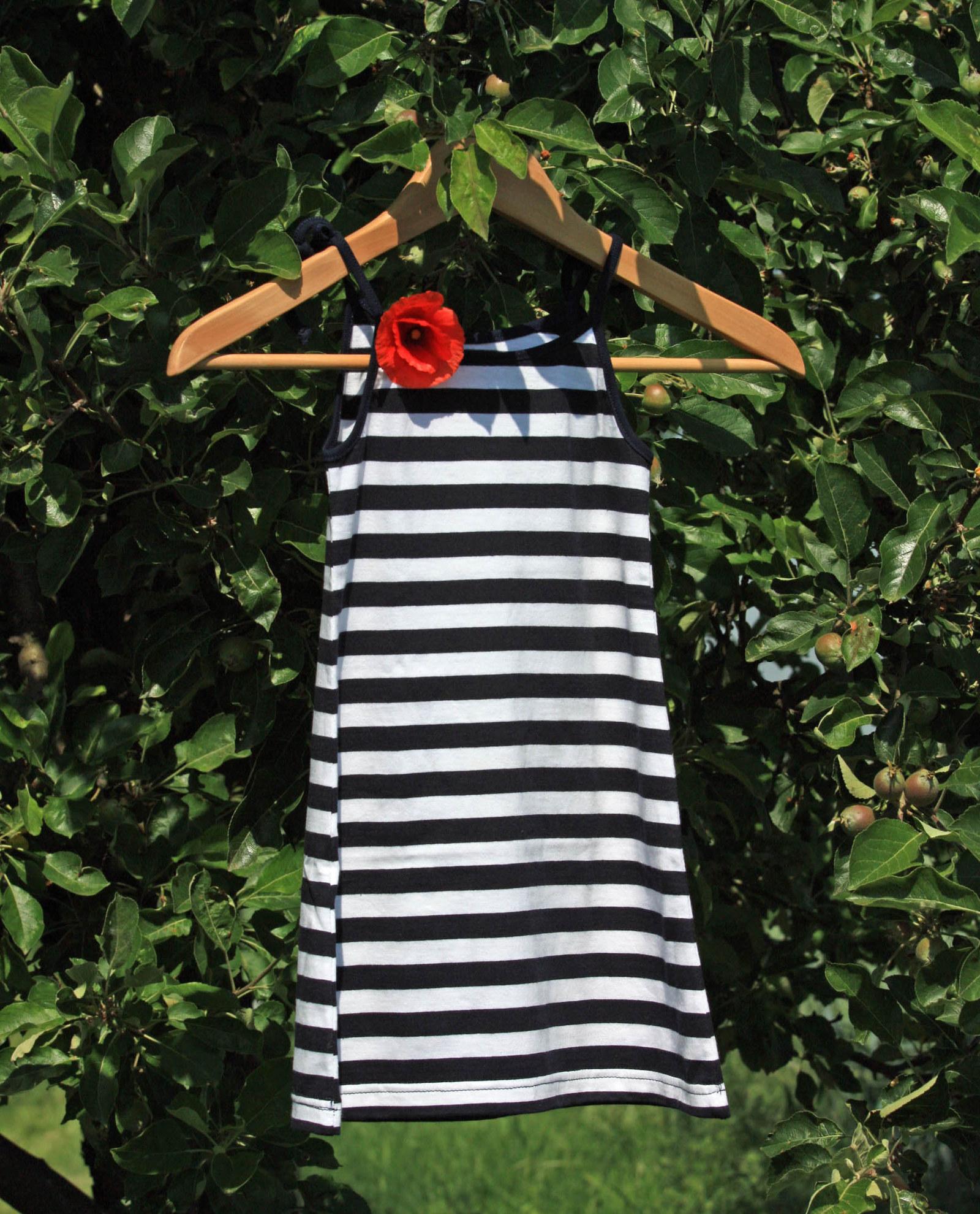 Letní dívčí šaty na ramínka - námořnické   Zboží prodejce jmmoda ... 5d7d783869