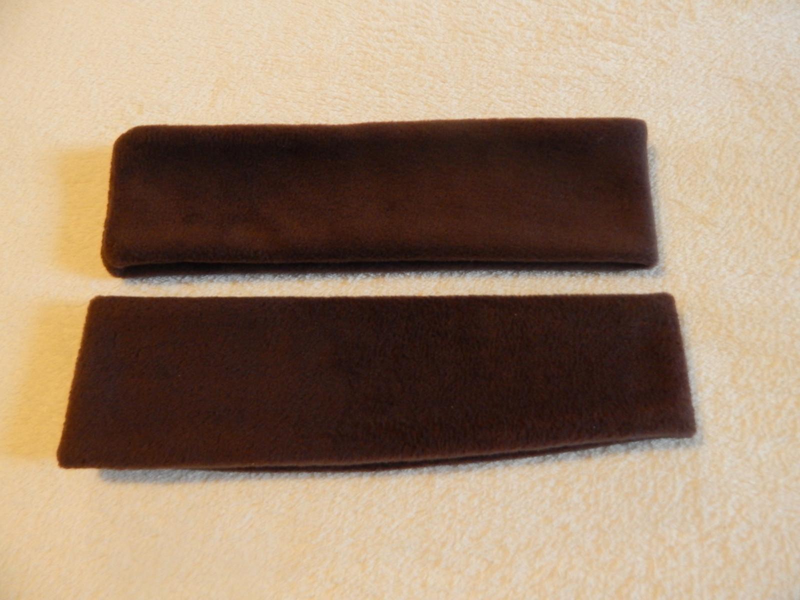 6ffdc6b85d2 fleecová čelenka hnědá   Zboží prodejce Marpegas