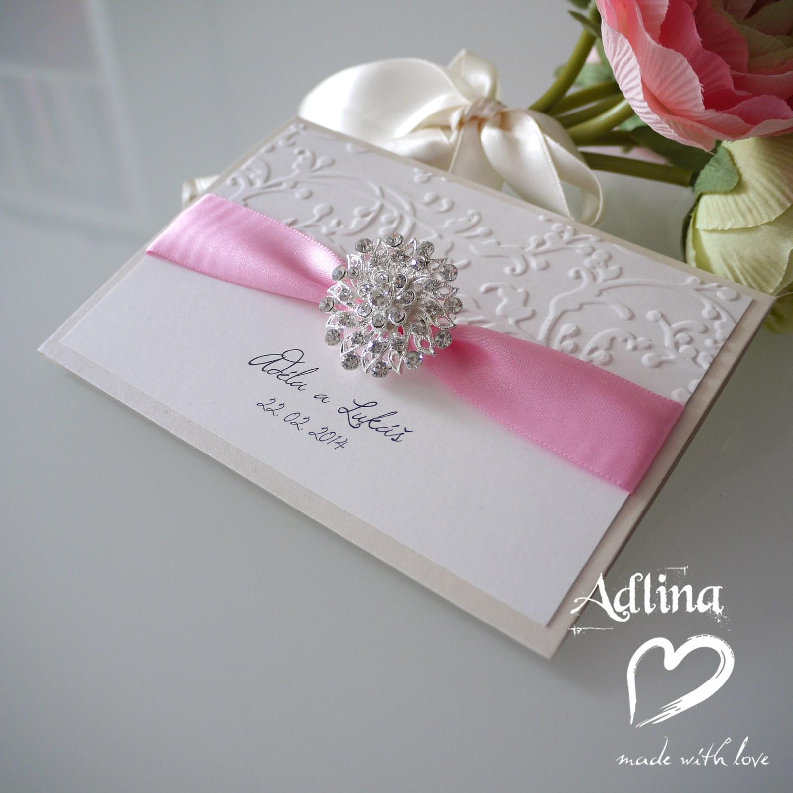 7ed8b86a7e3 luxusní svatební oznámení Ella   Zboží prodejce Adlina