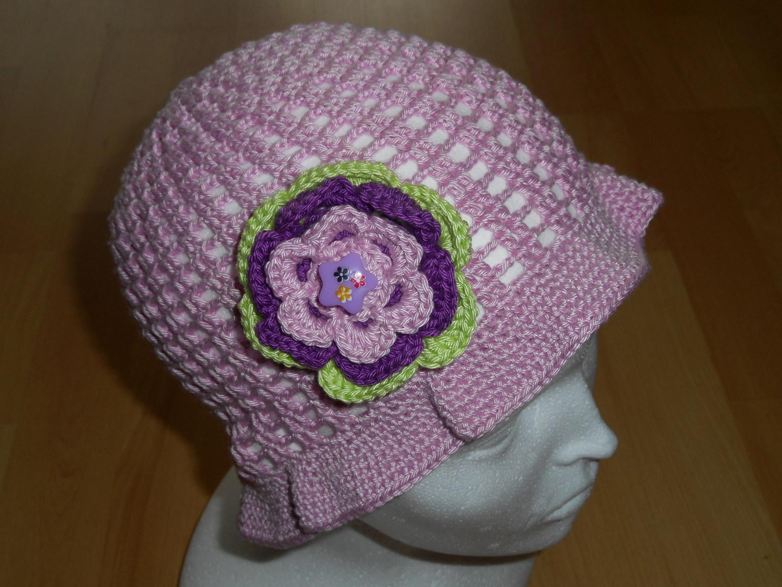 4aad18c9718 háčkovaný klobouček   Zboží prodejce Heltýnka