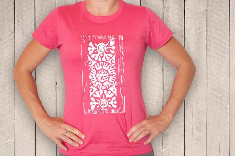 2e8e3b46efe6 Dámské tričko - Ovocný tetřev růžový   Zboží prodejce Petrita Art ...