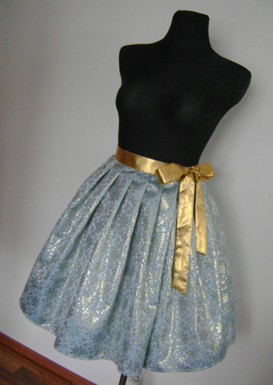 Brokátová zavinovací sukně 03   Zboží prodejce F-style Retro  4d2d9ce28b