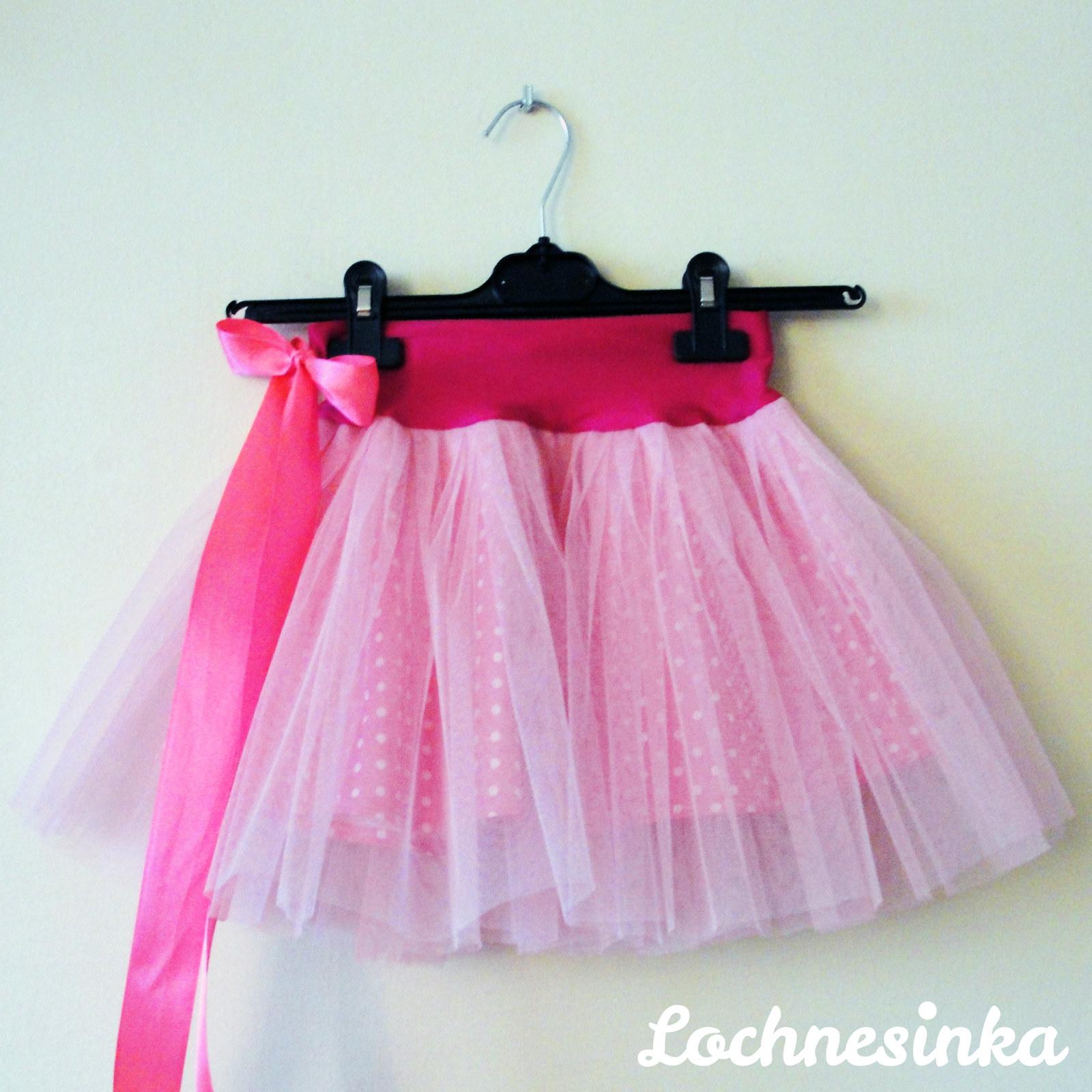 8ff659caa81 Tylová sukýnka růžová dětská   Zboží prodejce Lochnesinka