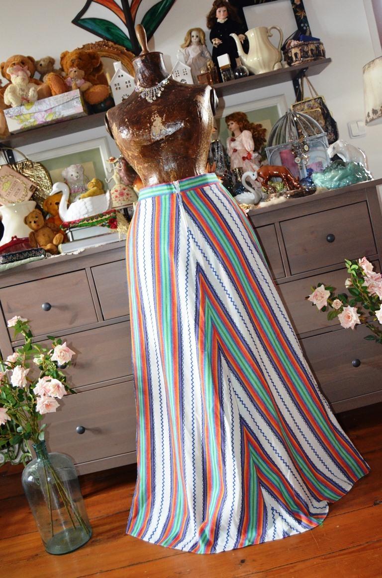 a2490c016ff Dlouhá barevná hippí sukně   Zboží prodejce Panská dílna