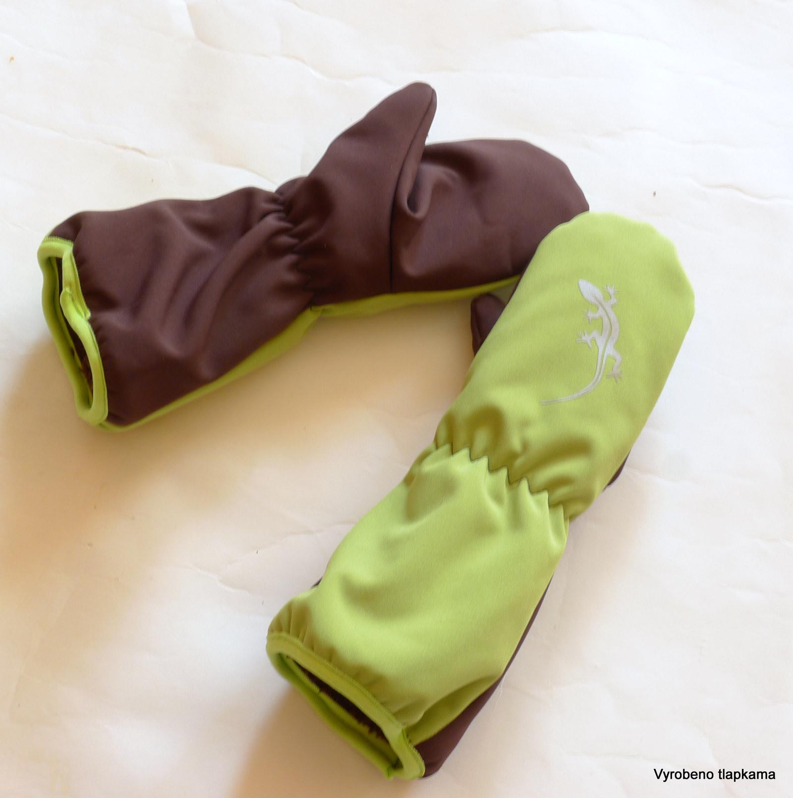Extra teplé softshellové rukavice - s ještěrkou   Zboží prodejce ... 5ef28a9310