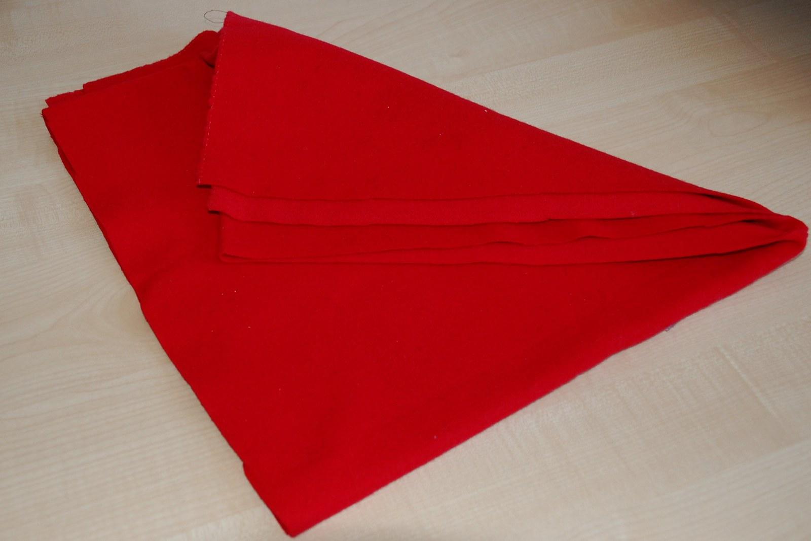 Flauš - červený   Zboží prodejce manakara  9f5f5fc8081