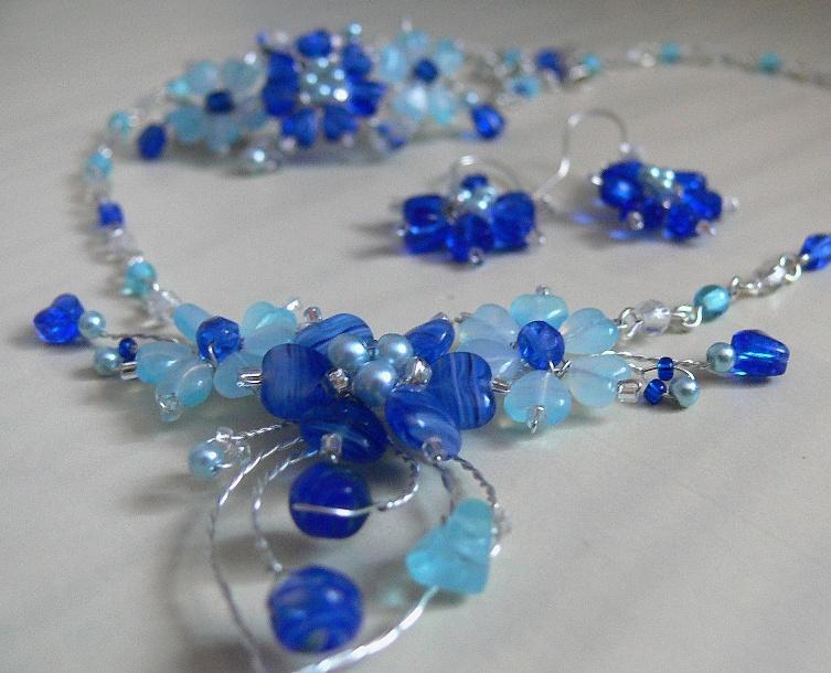 modré kytky-na přání   Zboží prodejce PresentsRadka  5486960d26