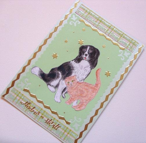 Zalozka Do Knihy Pes A Kocka Kreslene Zbozi Prodejce Evcakitt
