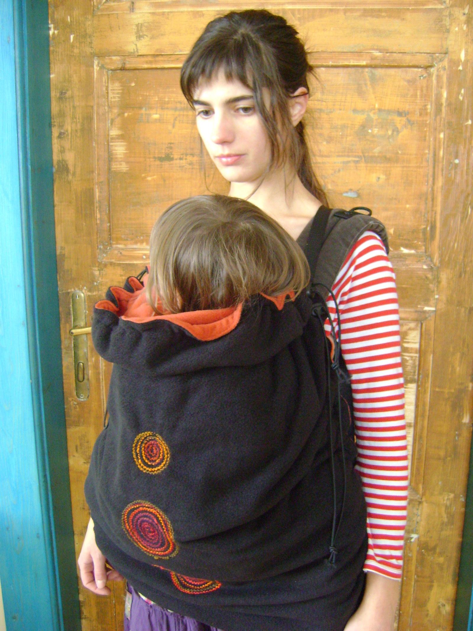 1cf28c5697f Teplá kapsa na šátek na nošení dětí-na přání 8   Zboží prodejce ...