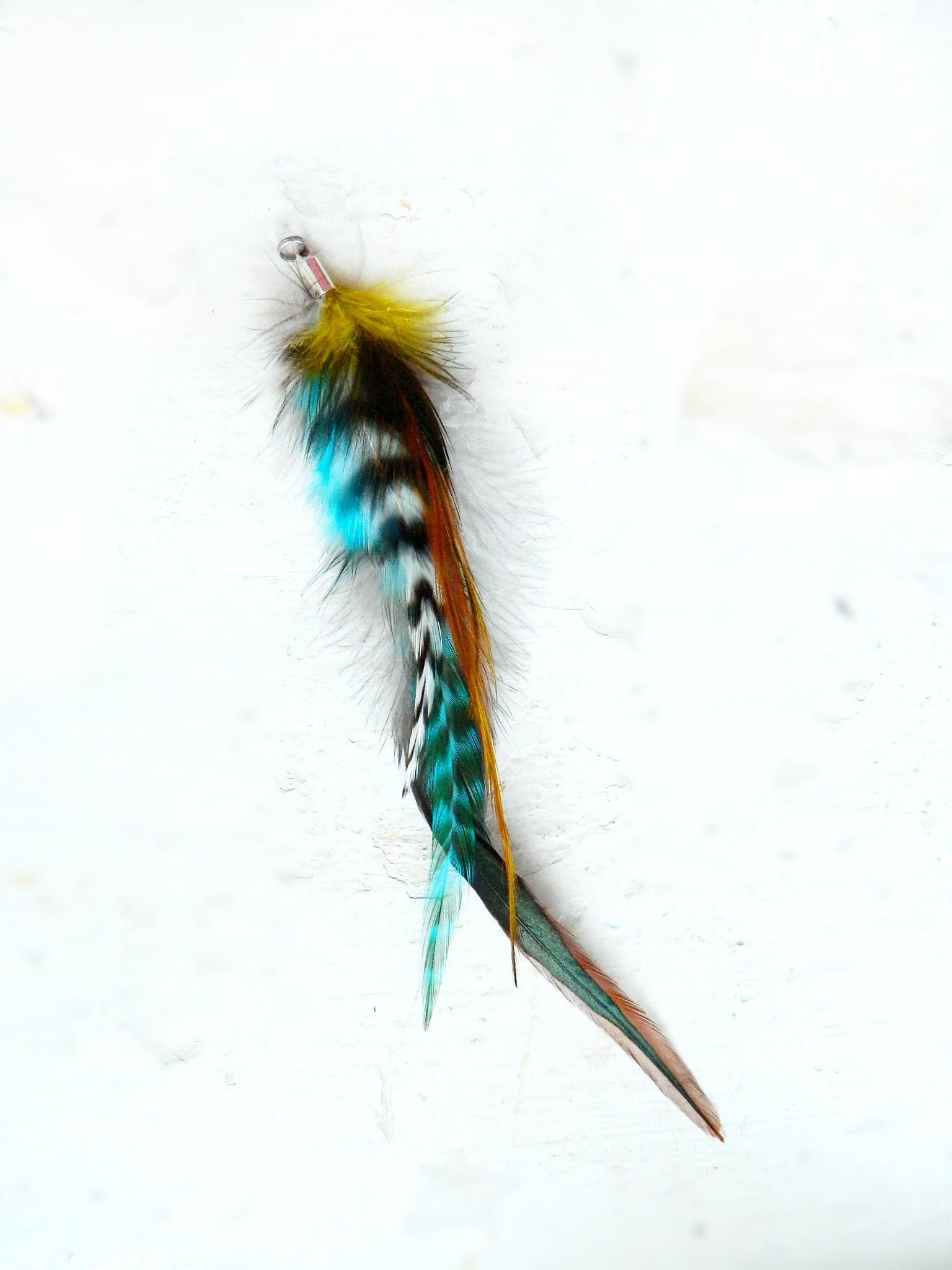 b16d50fb0cf peříčkový clip (sponka) do vlasů 19 cm   Zboží prodejce jakopírko ...