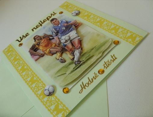 fotbalové přání k narozeninám Blahopřání pro muže fotbalisté k narozeninám / Zboží prodejce  fotbalové přání k narozeninám