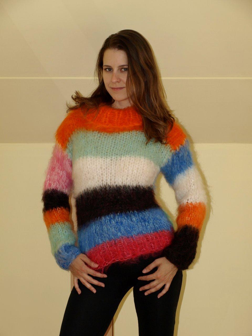 bb5cf83d515 Dámský mohérový svetr   Zboží prodejce KKatie