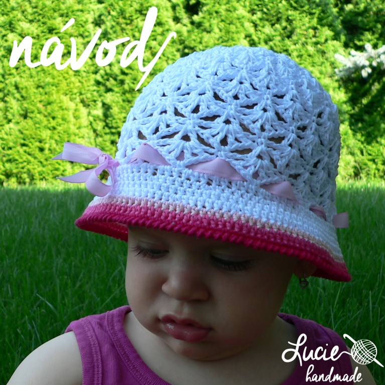 37c4c648bd2 NÁVOD č.3...na háčkovaný klobouček   Zboží prodejce Lucie handmade ...