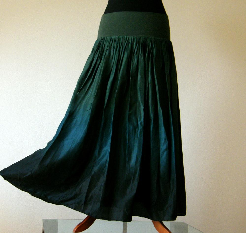 Bohyni lesů...dlouhá hedvábná sukně (bez spodničky)   Zboží prodejce laduse   ef33d3aebe