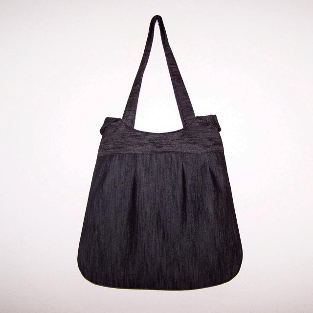 cb63a1700ff0 Taška jeans černošedá   Zboží prodejce Jolanetta