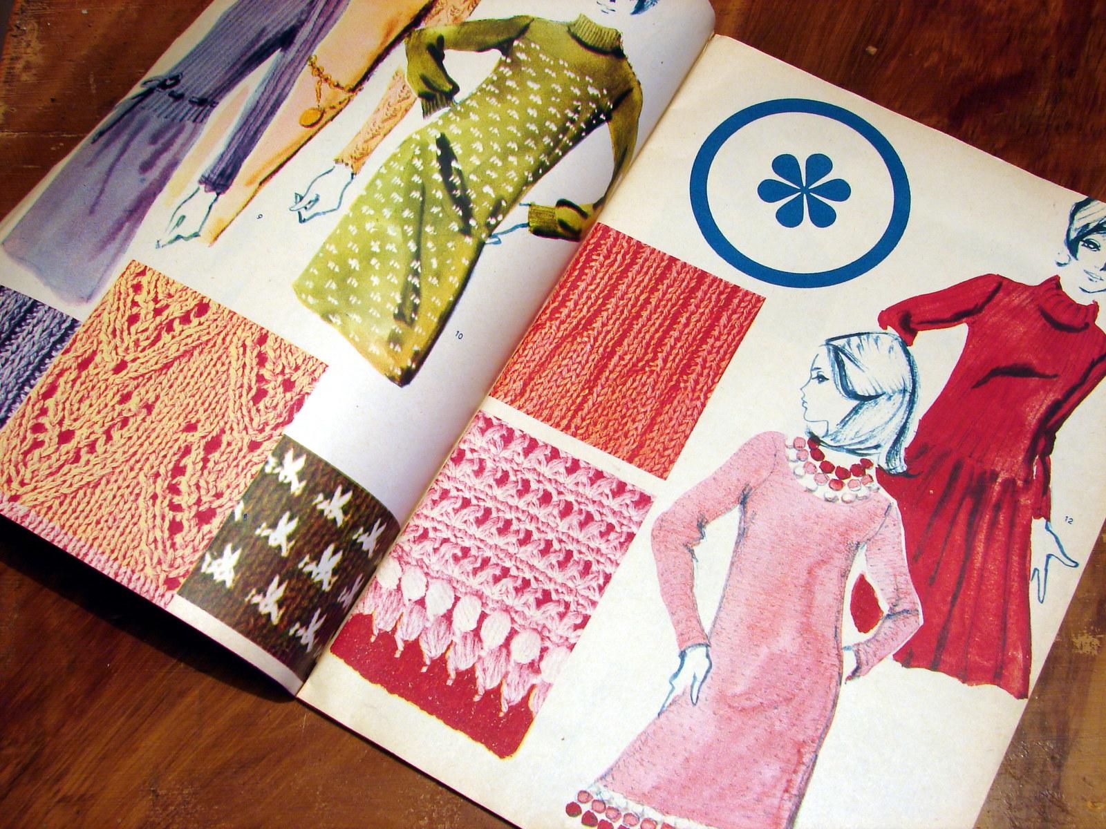 76316c5b634 Příručka časopisu Žena a móda č. 5 1967   Zboží prodejce Holky a já ...