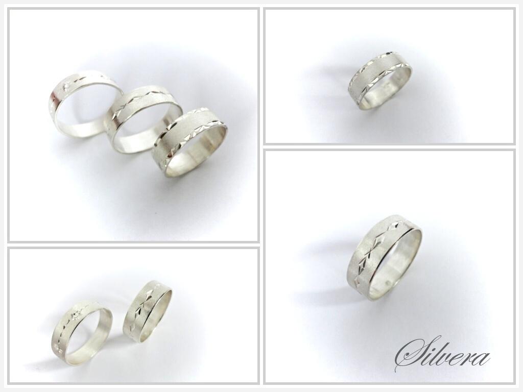 Stribrne 925 Snubni Prsteny 3 Varianty Zbozi Prodejce Silvera