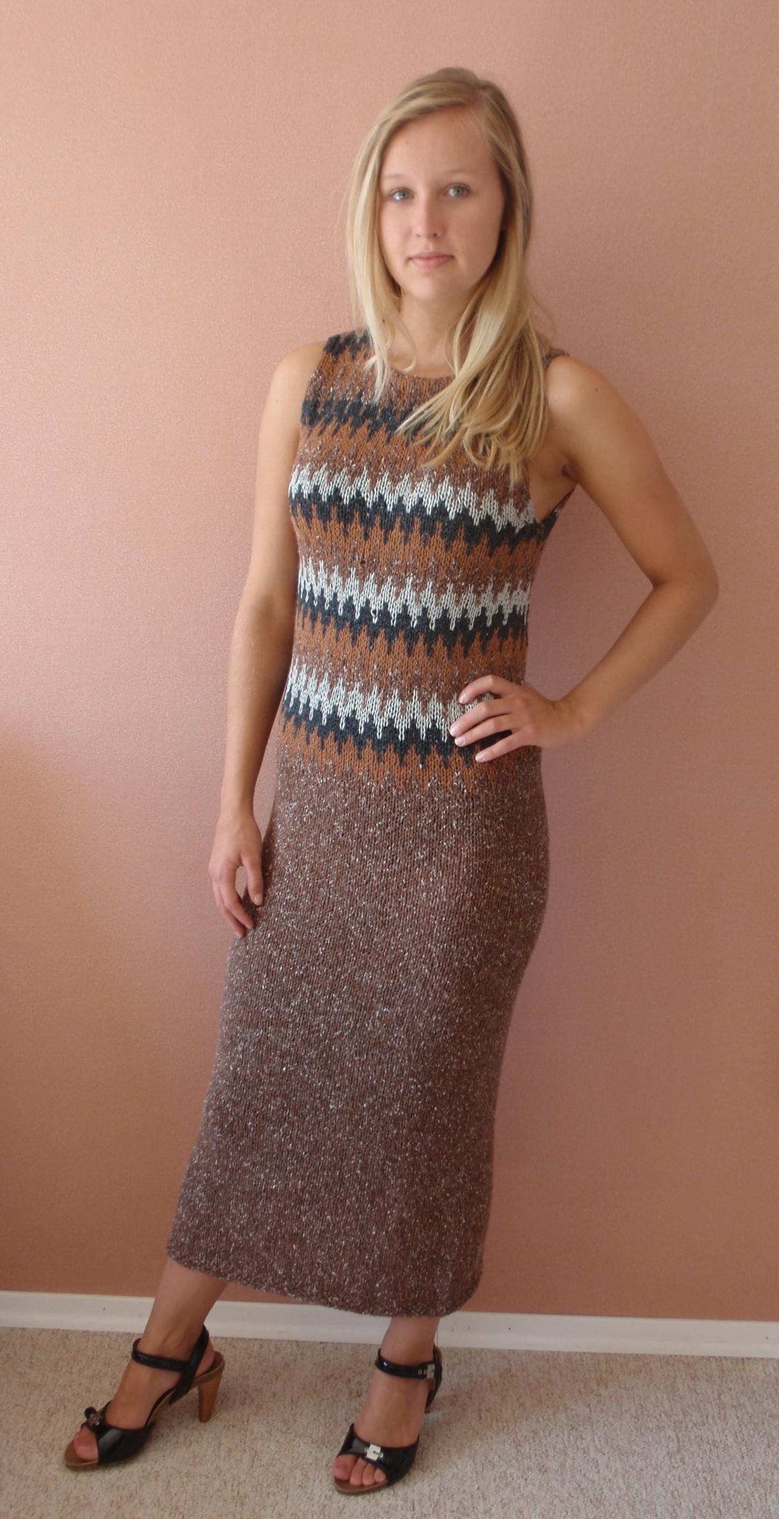 22ccbe6fab5d Prodám ručně pletené šaty   Zboží prodejce frendlova