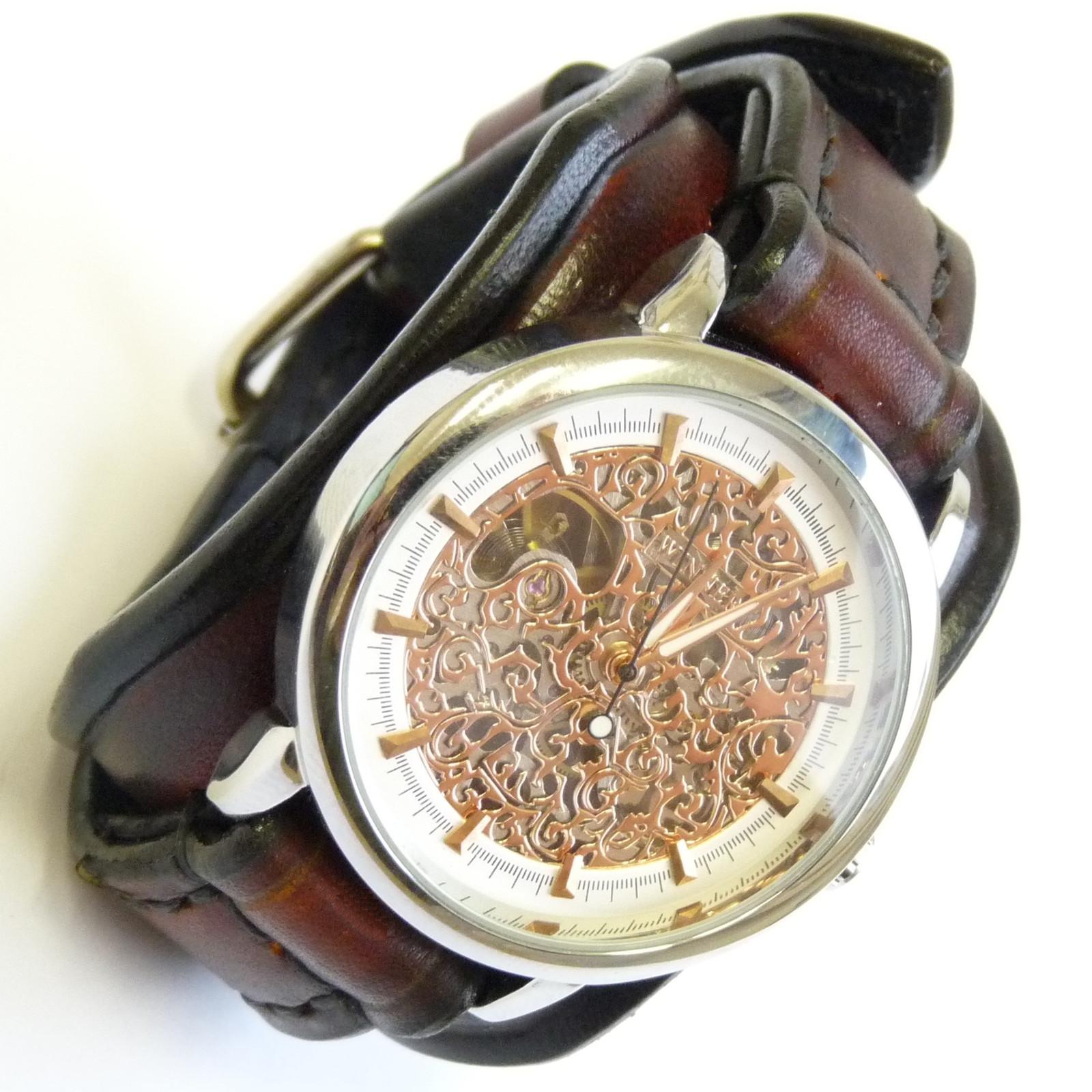 783d648a3 Unisex vintage hodinky, hnedé / Zboží prodejce leon6 | Fler.cz