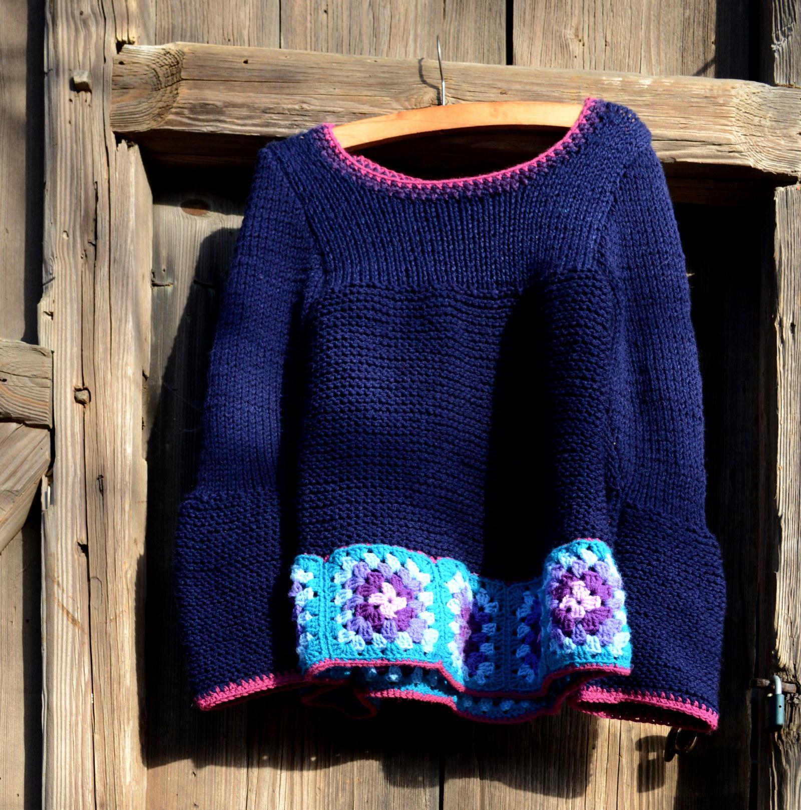 Hippie svetr   Zboží prodejce linka-O  b0ad794294
