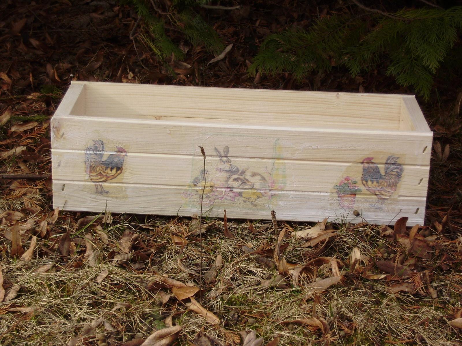 Dřevěné obaly na květináče   Zboží prodejce Sdružení Filia  2f967f35993