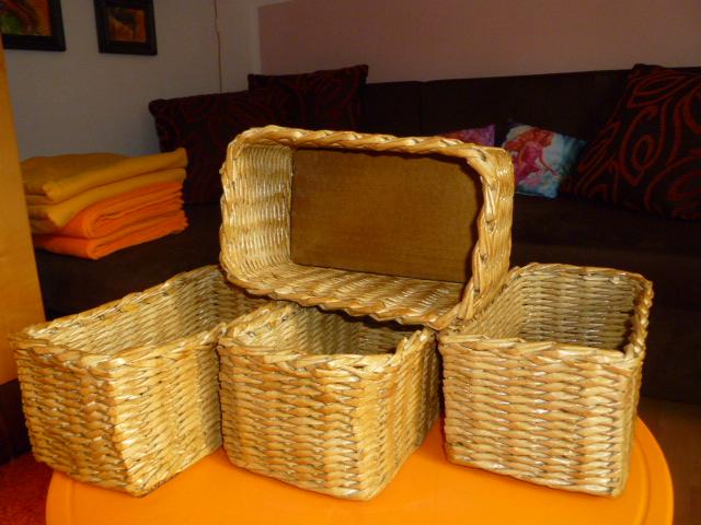 d42550213 Košíky - boxy hl.11 cm do skříně v setu po 4 ks / Zboží prodejce ...