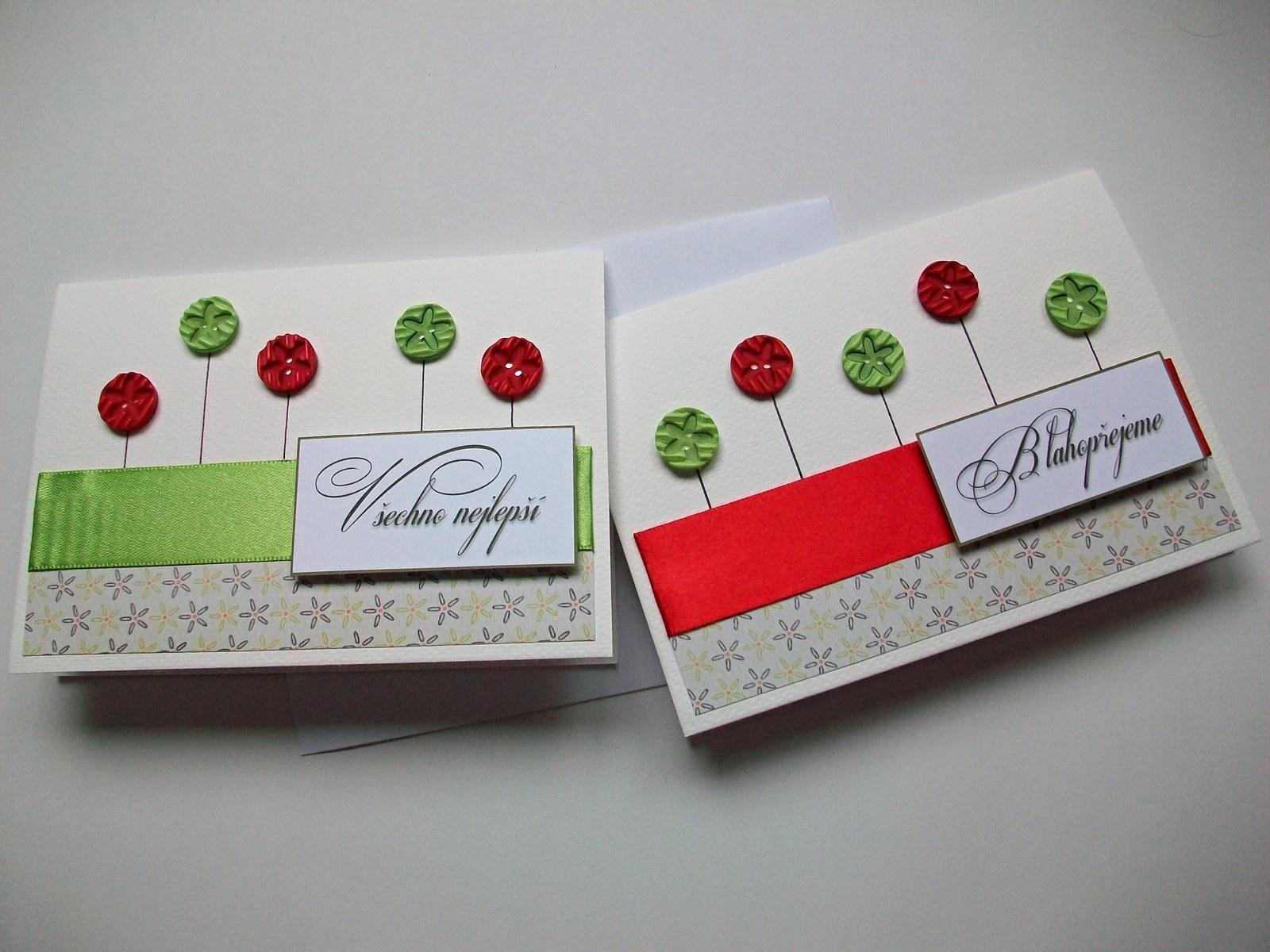 papírová přání k narozeninám 2x Přání k narozeninám č.35 / Zboží prodejce MilaJa | Fler.cz papírová přání k narozeninám