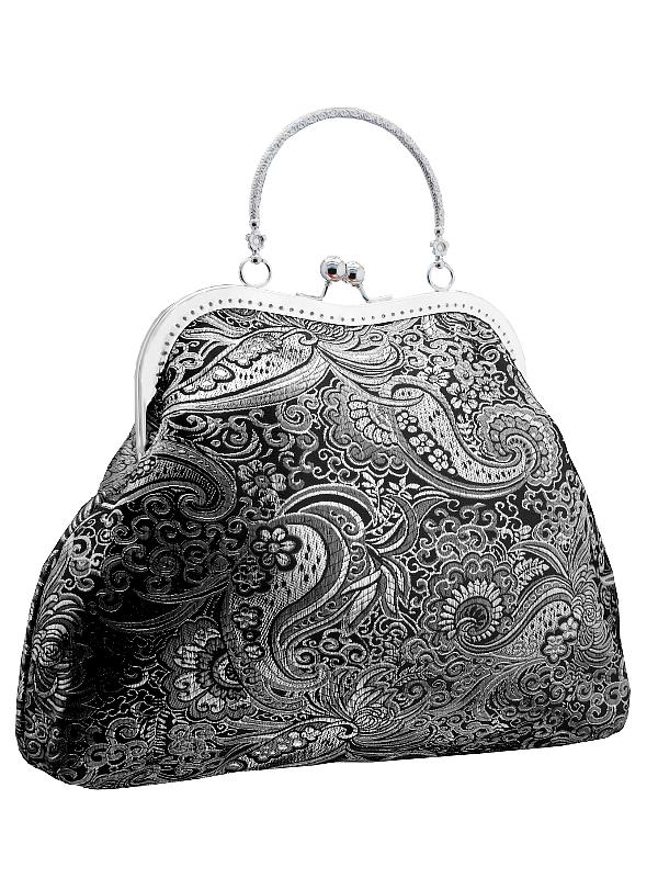 Dámská společenská kabelka stříbrná 01   Zboží prodejce Gothic ... 5e67c8e90d8