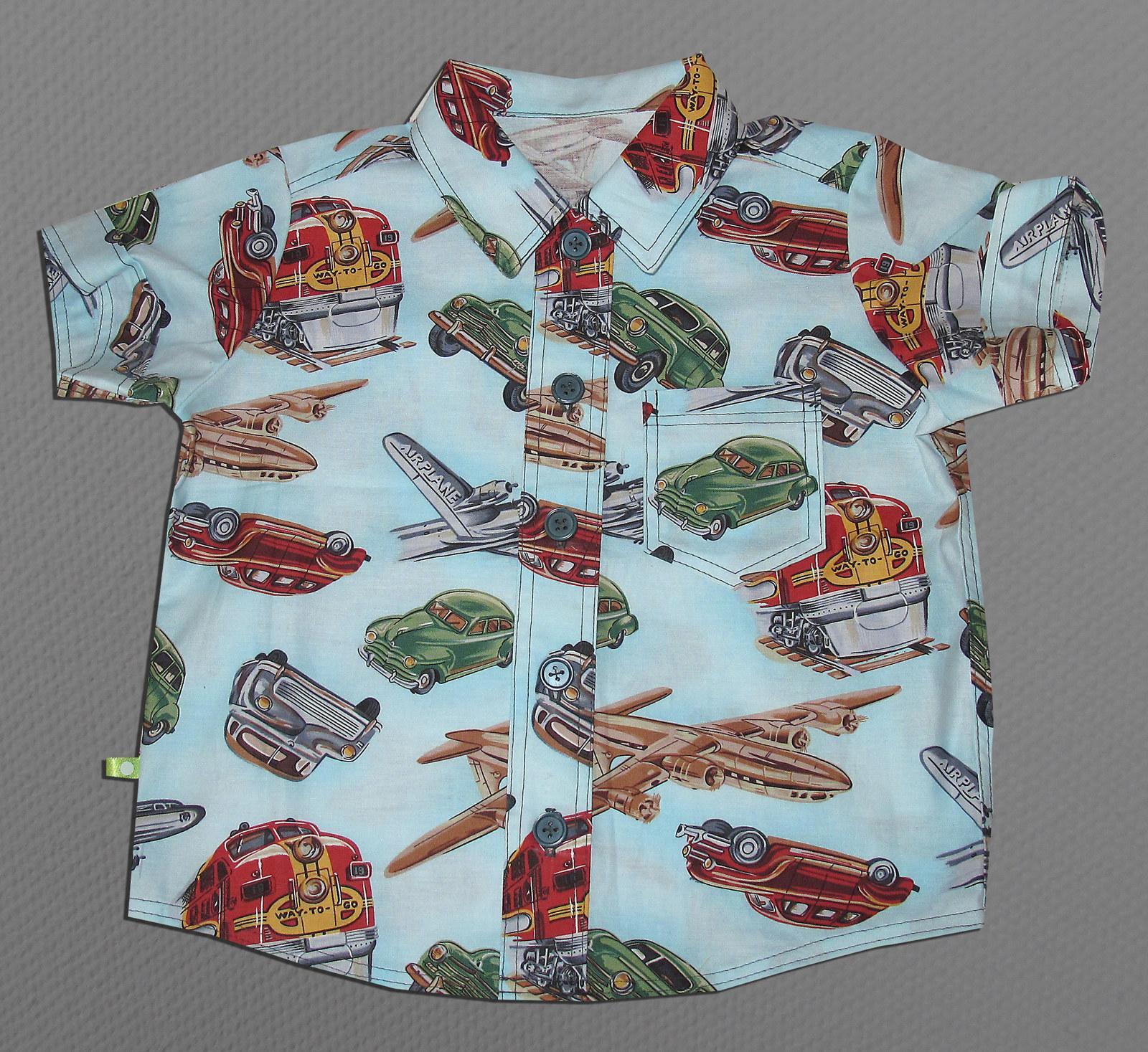 ec05f86485f Letní košile retro auta vel. 2-3 roky   Zboží prodejce Můj skřítek ...
