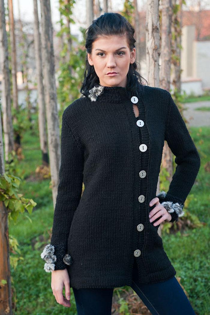 Pletený kabátek Delicious   Zboží prodejce fashionmartina  e2045d96ac
