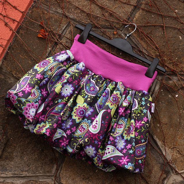 02520c6940f7 Balonová sukně paisley (možno i těhotenská)   Zboží prodejce ...