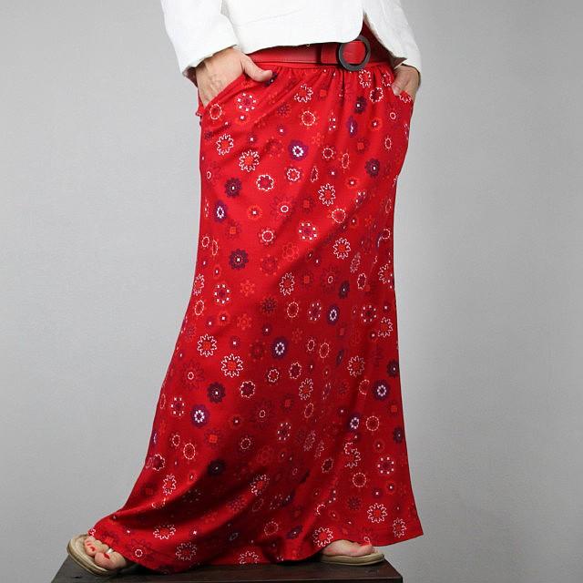 975924dd2a0 Maxi sukně - s kapsami   Zboží prodejce Režná Radka