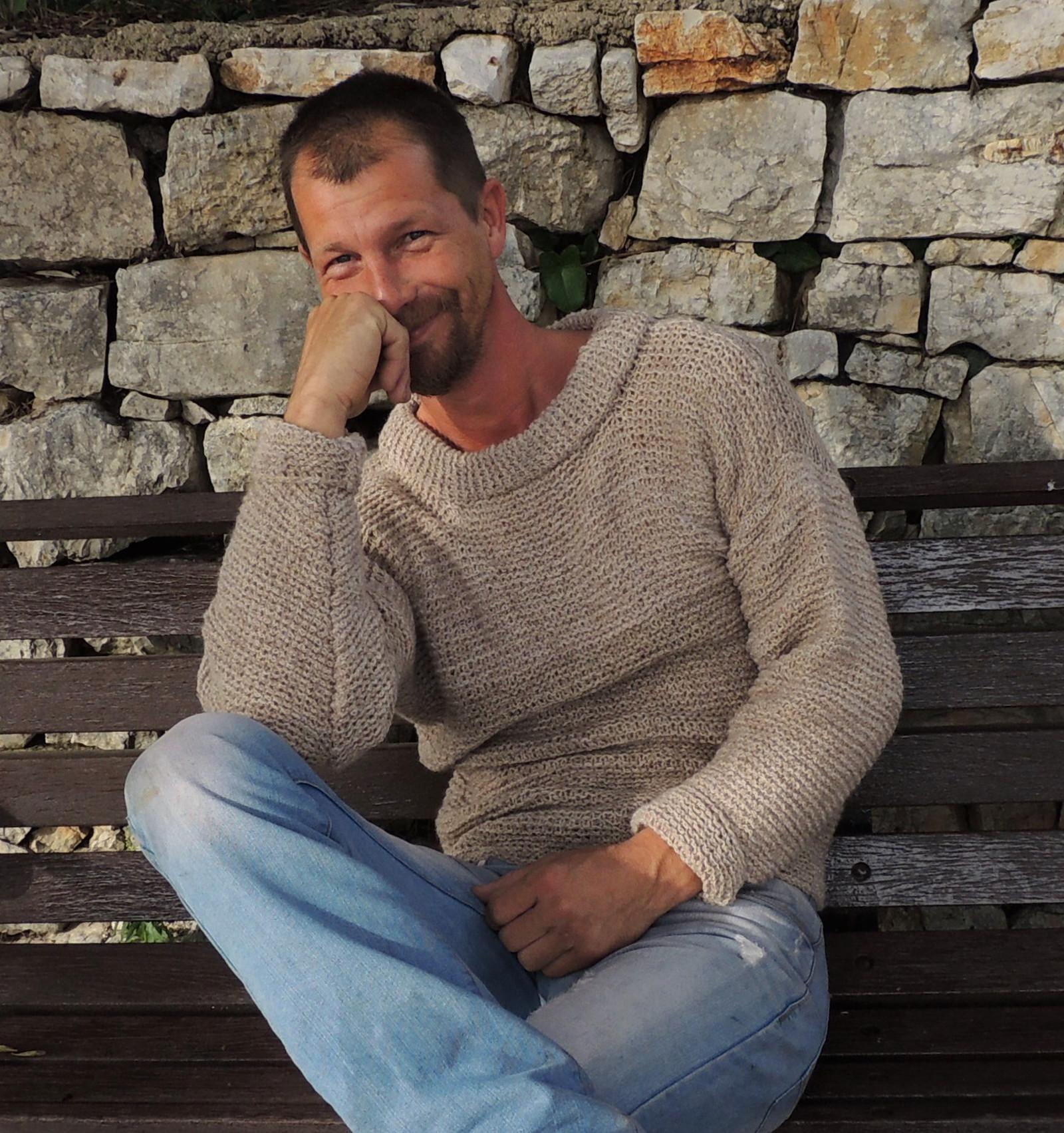 Ručně pletený kašmírový svetr unisex   Zboží prodejce zskncl  c1ef110a9e