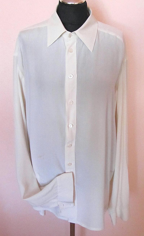 bfd4bae74f5 Pánská hedvábná košile   Zboží prodejce Hedvábné šaty