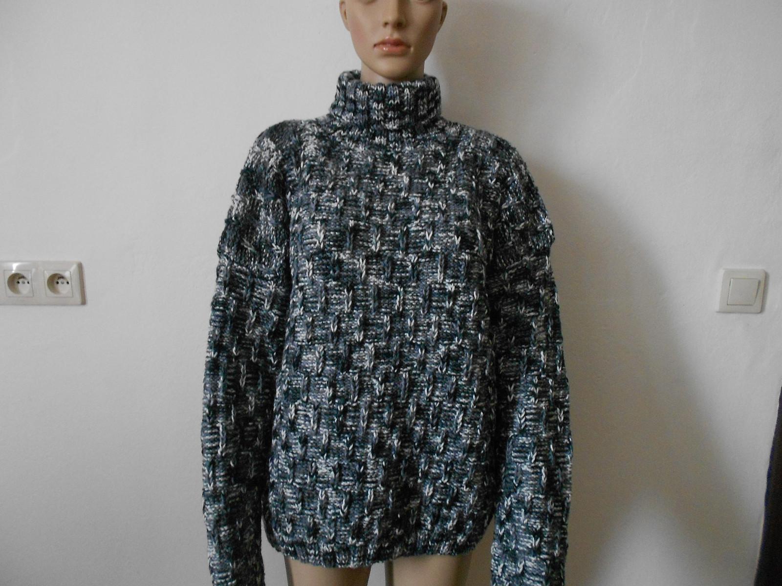 Velký pánský svetr - rolák s vlnou sleva 50%   Zboží prodejce mi-pi ... c007b60d29