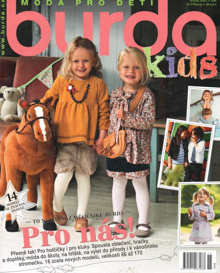 19c3587b1 Časopis Burda - Móda pro děti 2011 / Zboží prodejce sebestianin ...