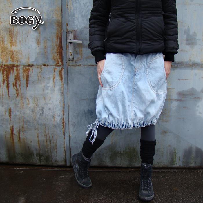dámská riflová sukně balónová bledlá   Zboží prodejce BOGY ... ff8b287642