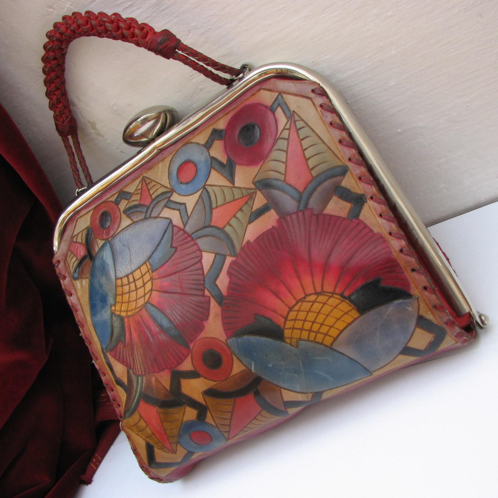 Exluzivní originální kožená rámová kabelka   Zboží prodejce ... 6dff280151f