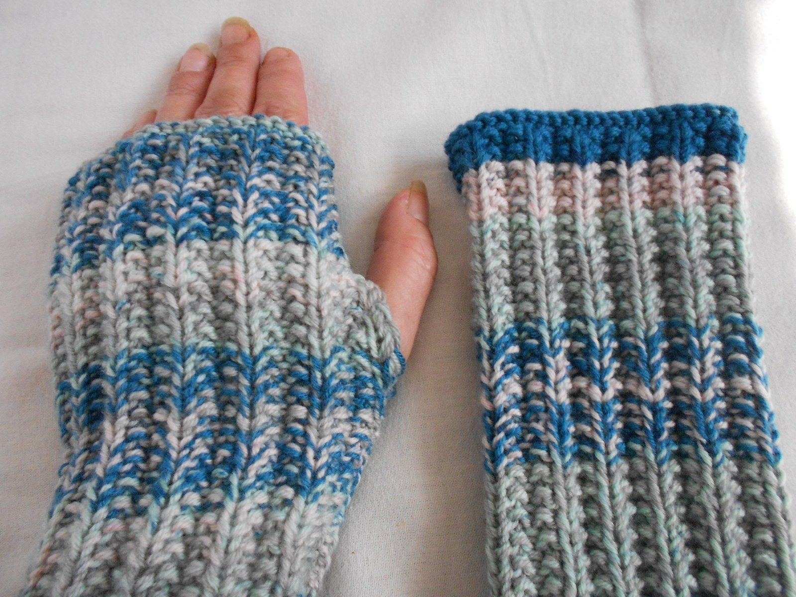 c92006294f7 Pletené návleky na ruce Merino   Zboží prodejce mi-pi