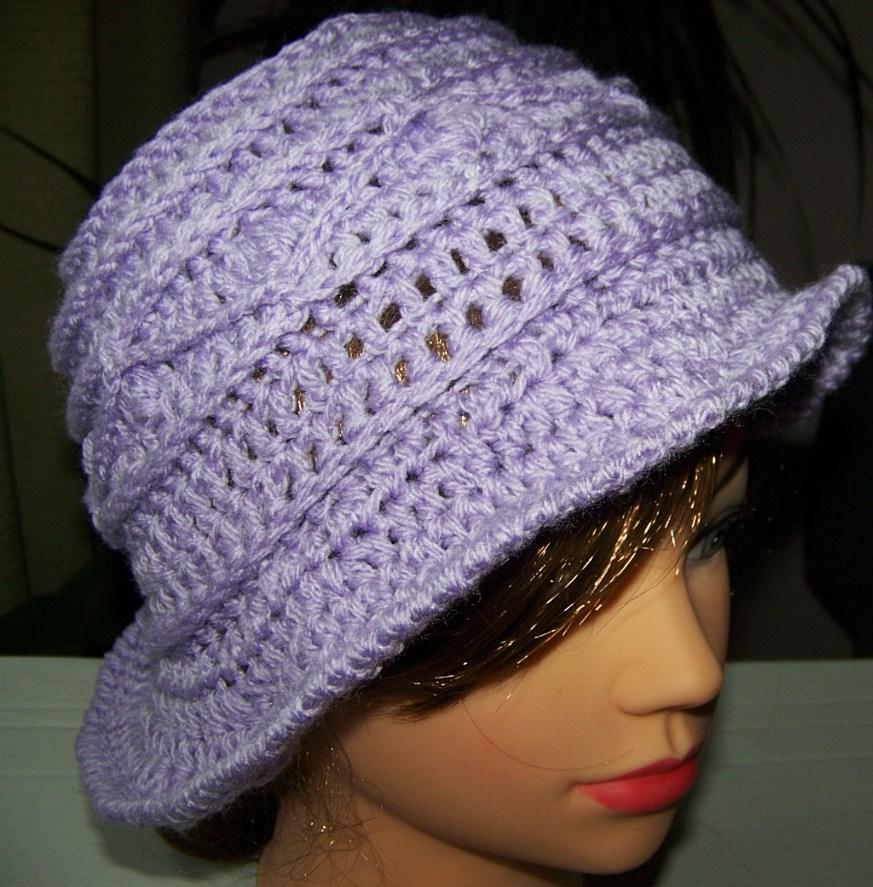 253c92e875e Háčkovaný klobouk Lilly.   Zboží prodejce Ko-runka