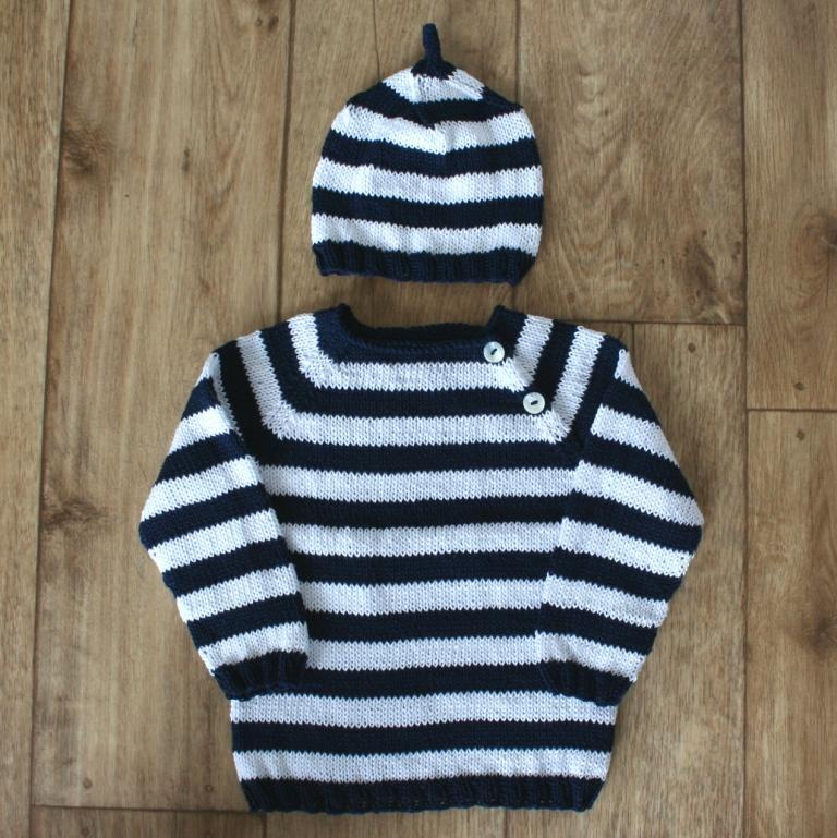 3514e4f9607b Pletený svetr pro miminko ze 100% bavlny   Zboží prodejce sophie ...