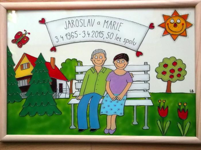 obrázky k výročí svatby K výročí svatby   babička s dědou : ) / Zboží prodejce Lenka  obrázky k výročí svatby