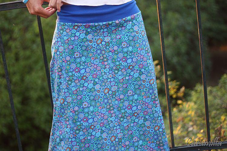 6d787c32c04c Dlouhá sukně malé mandaly tyrkysové (možno i těhu)   Zboží prodejce ...