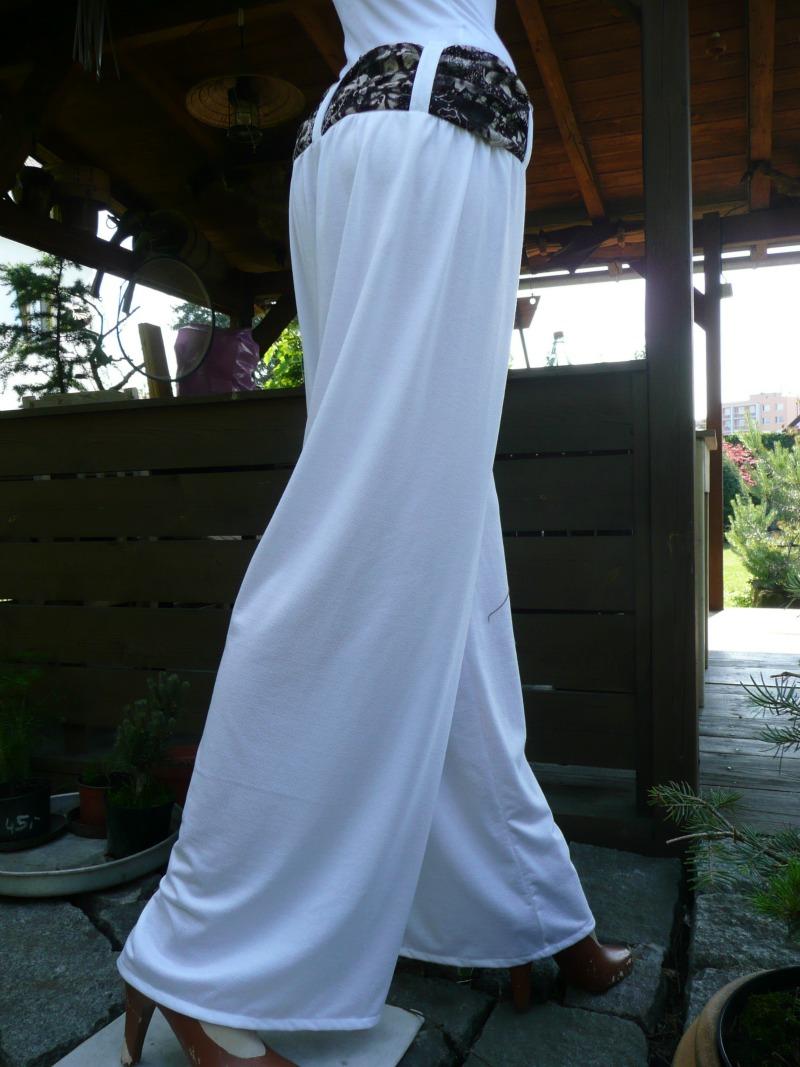 Letní široké kalhoty s vázačkou   Zboží prodejce ALA - FOX  cc0a7e9fb9