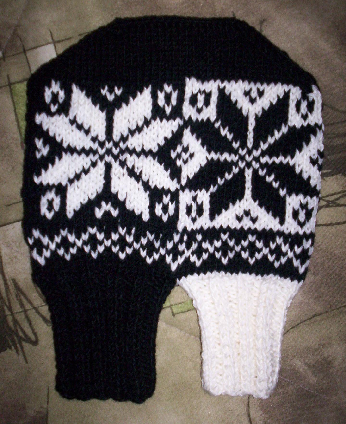 Norská rukavice pro zamilované - černá a bílá I.   Zboží prodejce ... 321dc8b5b2