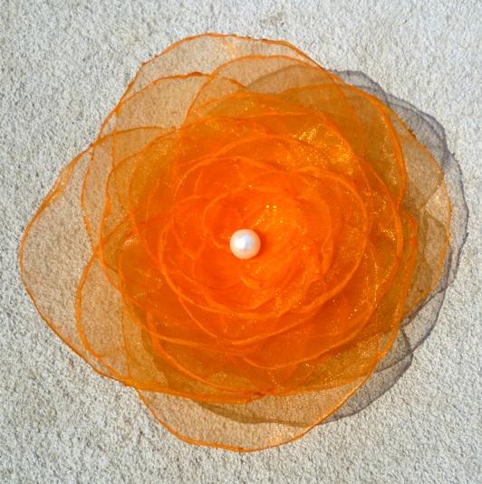 479153d417e Oranžová brož...SLEVA   Zboží prodejce IvuskA.07