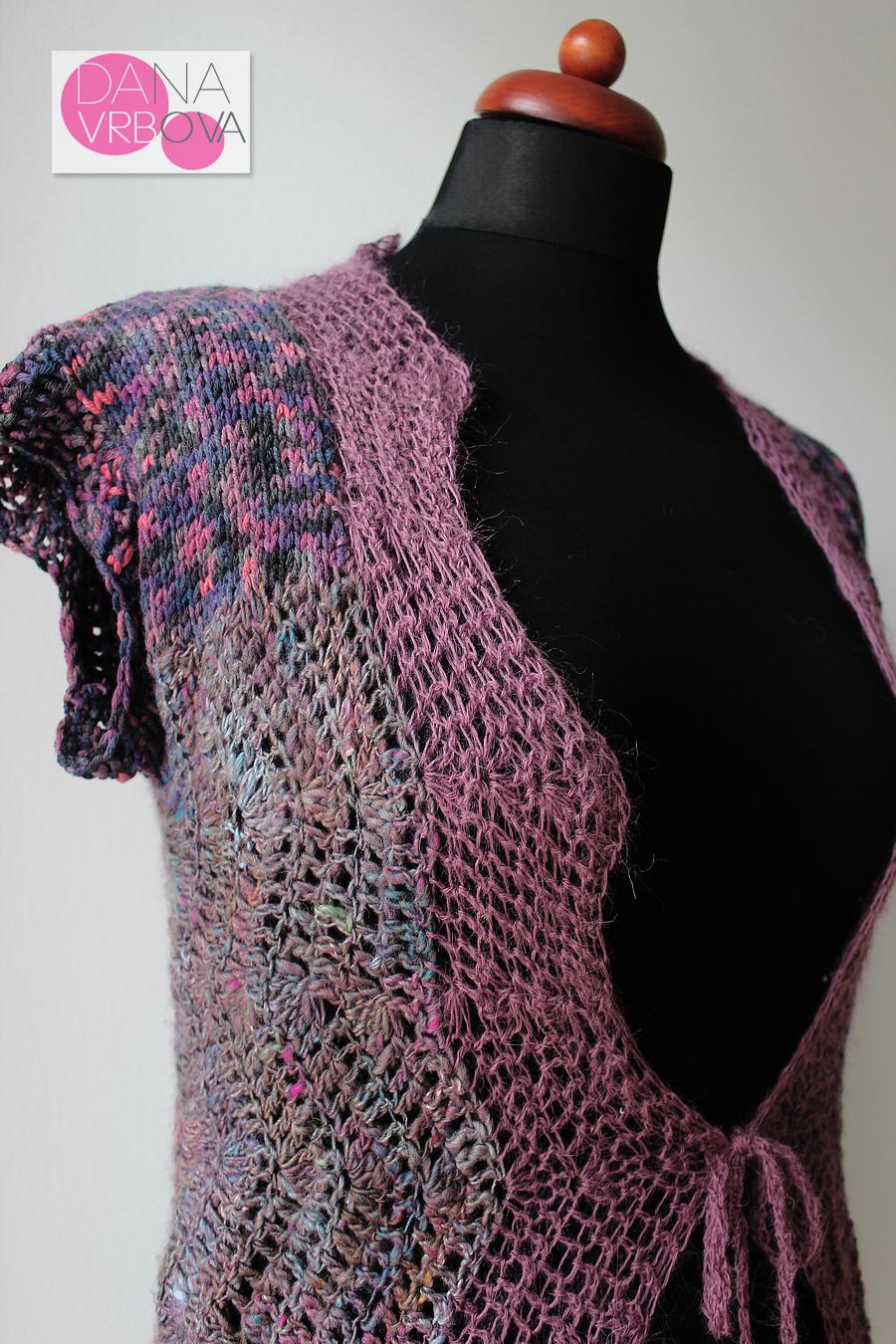 5721d6cde77 Háčkovaná vesta   Zboží prodejce Dana Vrbova